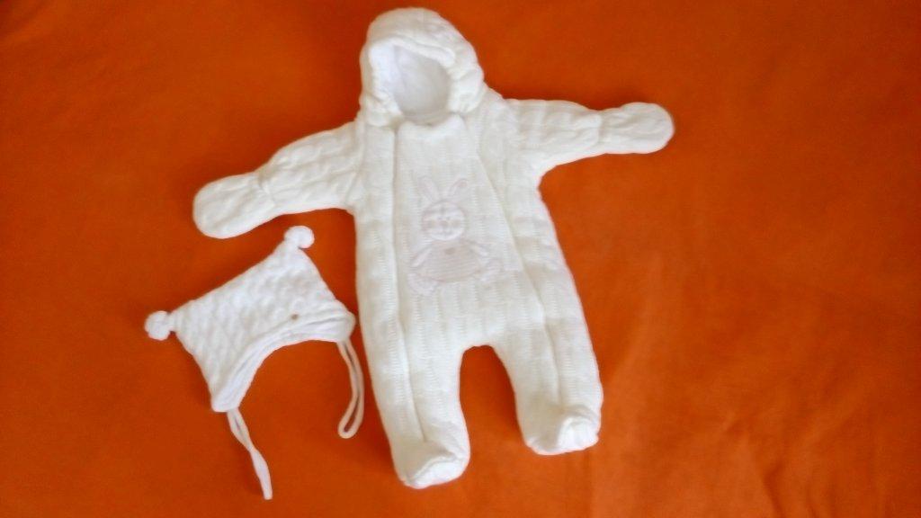 Комбинезоны для новорожденных осень зима своими руками