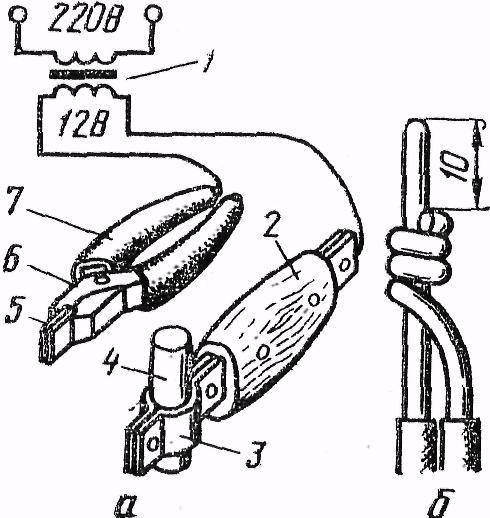 Инструмент для сварки проводов