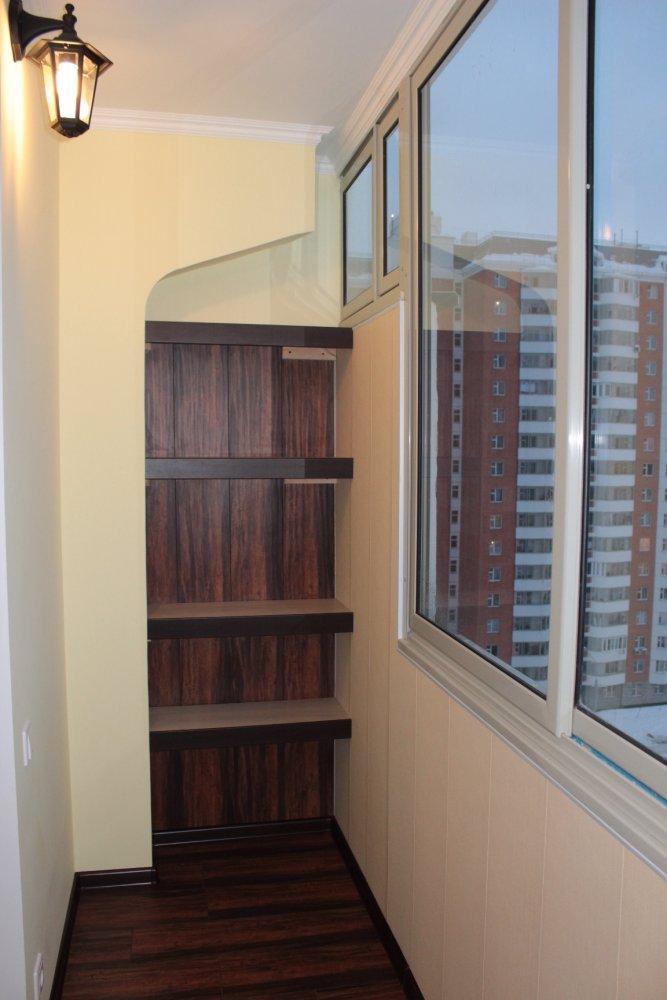 Маленькие балконы п 44 отделка фото..