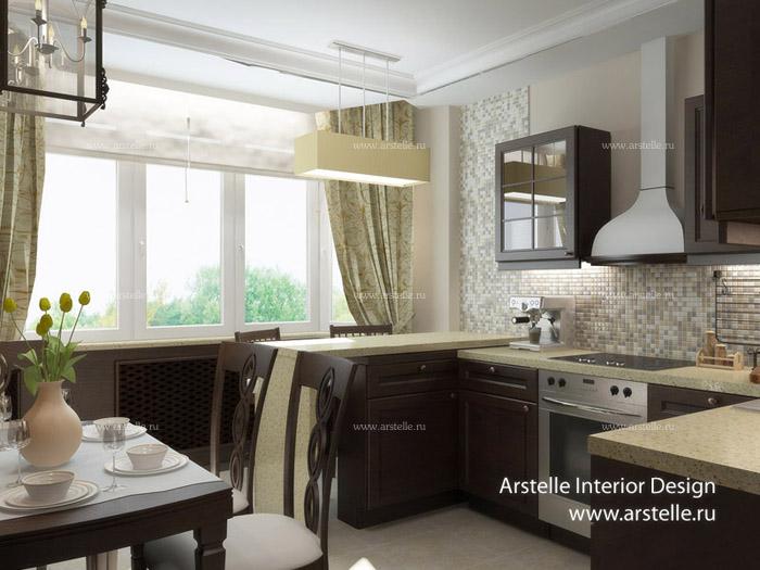 Дизайн проект квартиры п44т 3 комнатная.