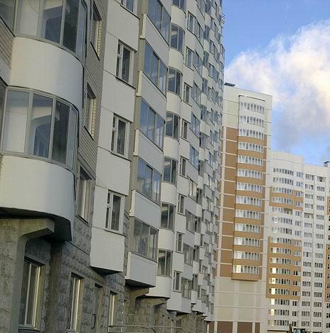 Перегородки между балконами в домах серии п-44т - солнцево п.