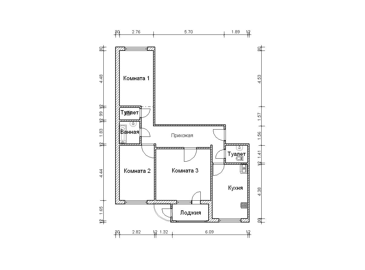 Планы п-111м - фотоальбомы - дизайн-проекты интерьера.