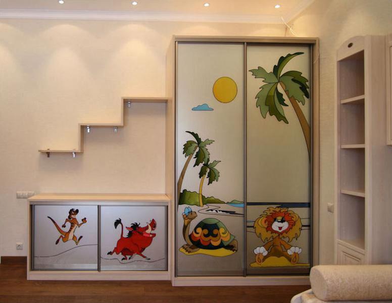 шкаф купе угловой для детской комнаты фото