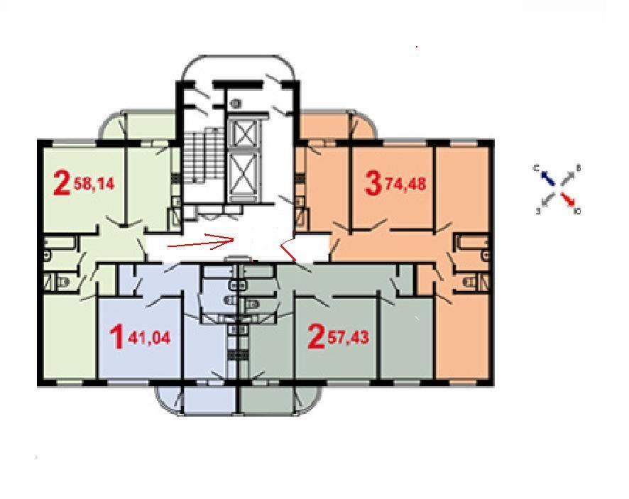 Продажа квартиры, продается 1комн. кв. 42м. кв., москва, ави.