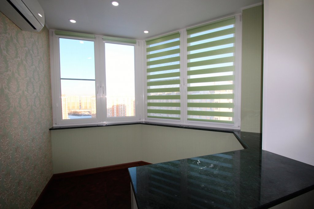 Капсульное утепление балкона. - дизайн маленьких лоджий - ка.
