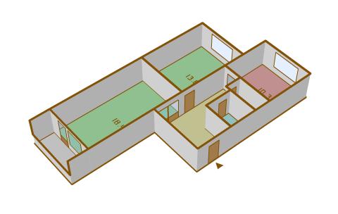 Размеры балкона парус..