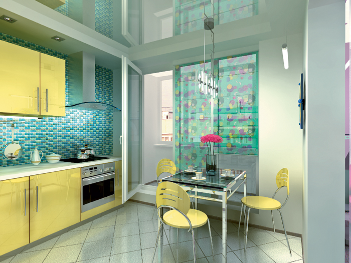 Кухни с балконом - наш ответ эркеру! - солнцево парк, сайт ж.