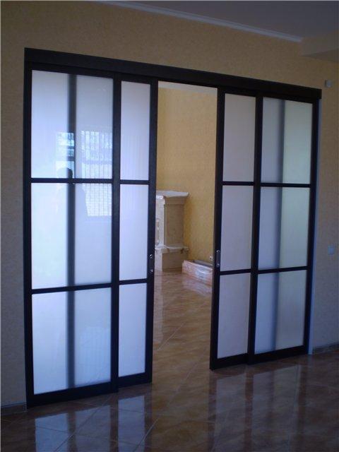 Раздвижные двери из поликарбоната своими руками фото