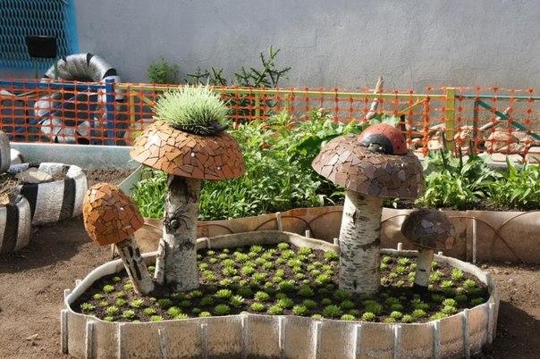 Полезные поделки для огорода