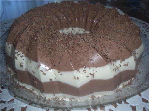 Торт желе рецепт пошагово в домашних условиях