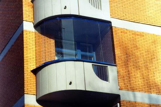Остекление маленького балкона в домах серии п111м - солнцево.