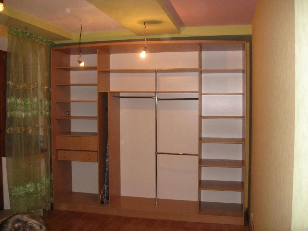 Встроенные шкафы-купе в интерьере фото Дом Мечты
