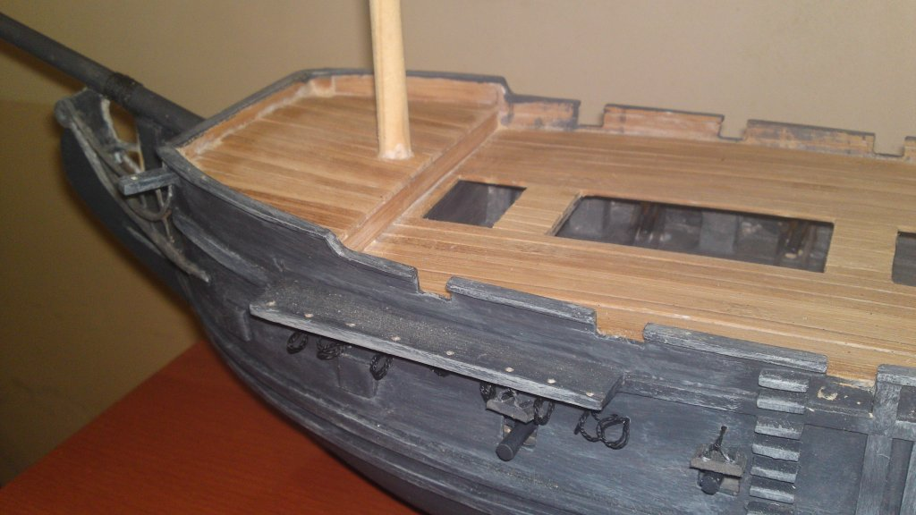 Корабль из дерева своими руками черная жемчужина 23